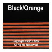 Black / Orange G10 - .250