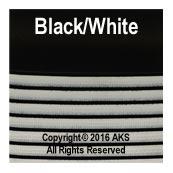 Black / White G10 - 262-in - 11-5-in - 8-5-in