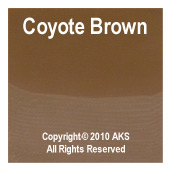 Coyote Brown G10 - .063