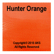 Hunter Orange G10 - .063