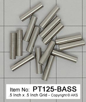 .125 Stainless Pivots