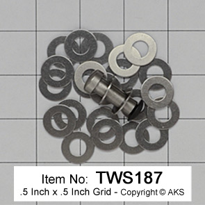 ".187"" Thrust Washers"