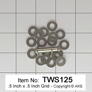 .125 pivot thrust washers