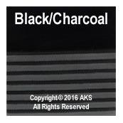 Black / Charcoal Gray G10 - 260-in - 11-5-in - 8-5-in