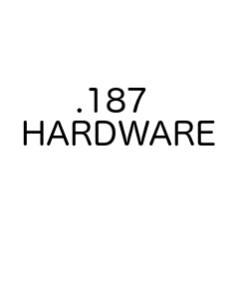 ".187"" Hardware"