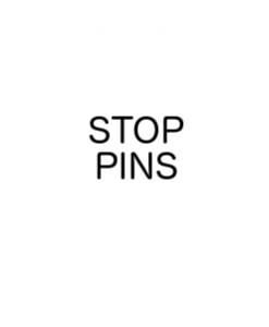 Stop Pins