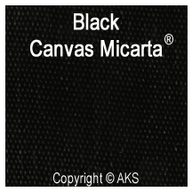 Black Canvas Micarta